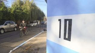 El barrio de Messi en Rosario se pinta la cara para el Mundial