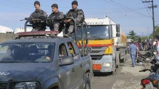 El gobierno dice que la Policía recomendó a la Justicia detener a transportistas