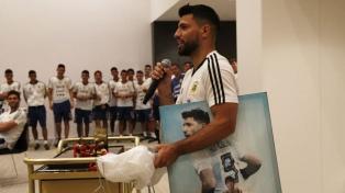 Argentina celebró el cumpleaños de Agüero
