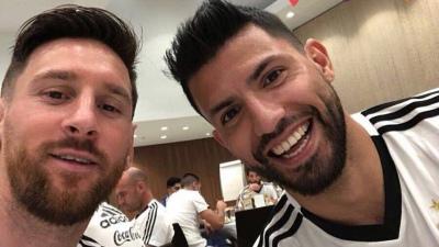 Messi y Agüero, candidatos a integrar el