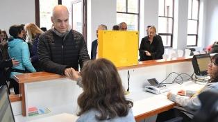Larreta inauguró la nueva sede de la Comuna 1 en el edificio del ex Padelai