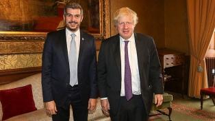 Peña destacó el apoyo británico para fortalecer la relación bilateral