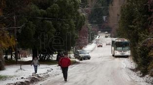Alerta por nevadas intensas en la Patagonia
