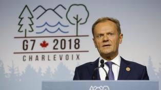 La UE rechaza readmitir a Rusia en el G7, como propuso Trump