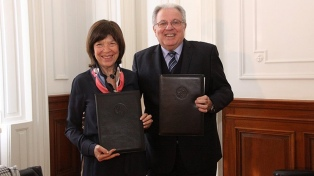 La UBA potenciará intercambios en el campo de la investigación con la Fundación Mundo Sano