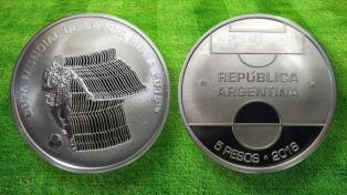 El Banco Central presentó la moneda para Rusia 2018