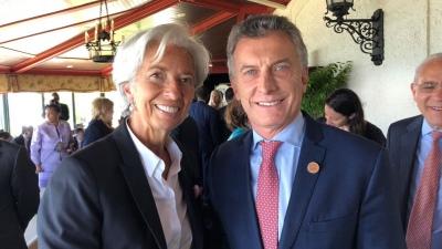 Lagarde afirmó que la reunión con Macri fue
