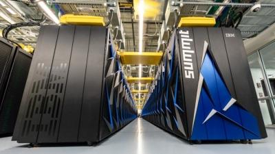 EEUU presentó la computadora más rápida del mundo