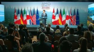 Los países del G-7 apoyan las políticas macro-económicas adoptadas por la Argentina