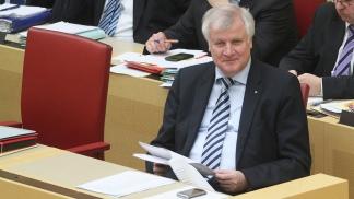 Horst Seehofer,  ministro del Interior de Alemania