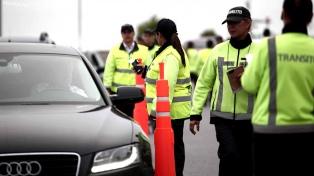 Realizaron 987 controles de alcoholemia en Buenos Aires