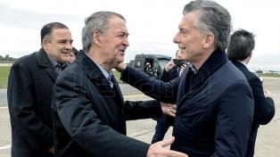 "Macri inaugura la jornada ""Argentina Sin Narcotráfico"" y se reúne con Schiaretti"