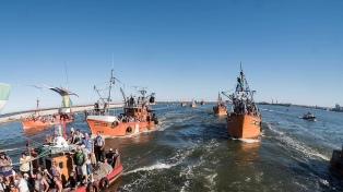Los pescadores esperan una respuesta para levantar la huelga por la desaparición del Rigel