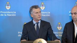 """Macri pidió enfrentar """"los problemas que arrastramos con verdad, diálogo y transparencia"""""""