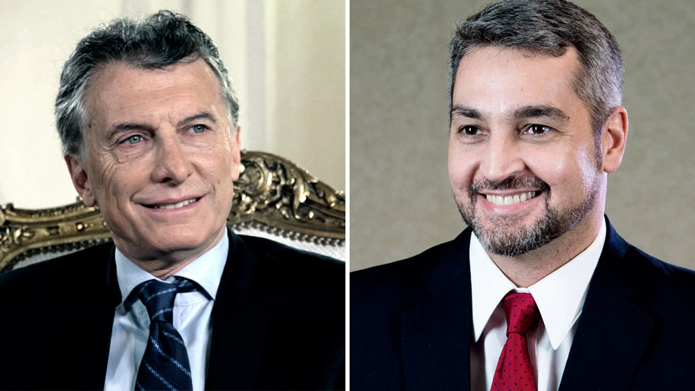 Macri almuerza con el presidente electo de Paraguay en la Casa Rosada