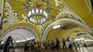 Moscú: campeón del mundo subterráneo
