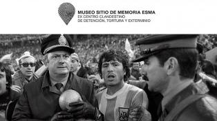 """Con el Mundial como fondo, el Parque de la Memoria inaugura """"Tiren Papelitos"""""""