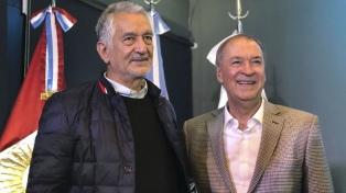 Schiaretti y Rodríguez Saá suscribieron un acuerdo de cooperación