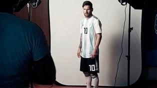 Argentina tuvo su sesión de fotos oficiales del Mundial