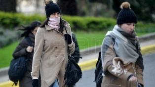 Miércoles frío y ventoso en la ciudad de Buenos Aires y alrededores