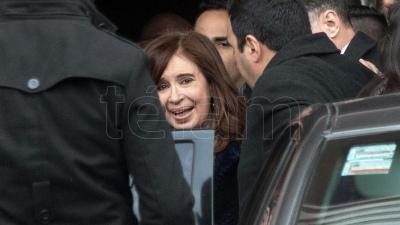 Cristina y Feinmann no llegaron a un acuerdo por una demanda civil