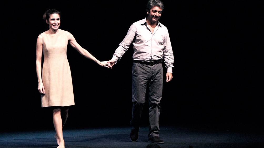 Valeria Bertuccelli habló tras las disculpas de Ricardo Darin
