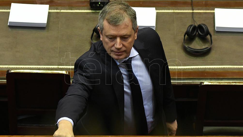 El presidente de la Cámara, Emilio Monzó, posible protagonista de un desempate en caso de una paridad de votos en el recinto.