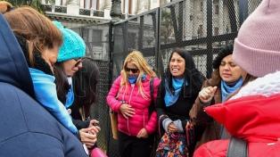 """Grupos """"provida"""" marchan al Congreso en contra de la ley de educación sexual"""