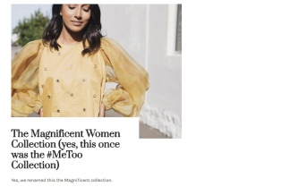 Polémica por la colección de una marca de moda inspirada en el #MeToo