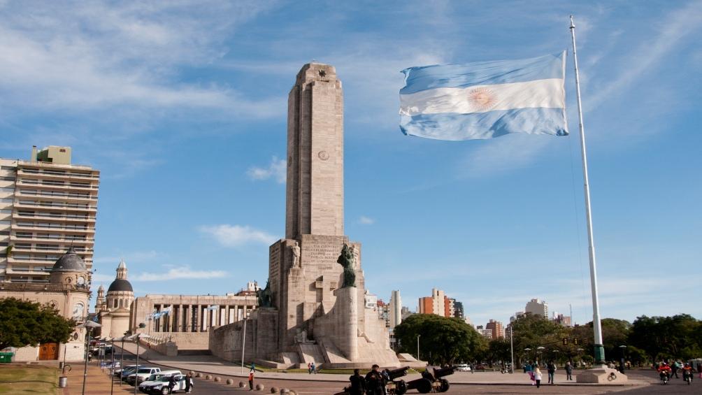 Monumento a la Bandera, un emblema de la ciudad.