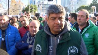 """El paro """"es importante"""" y la """"movilización, multitudinaria"""", dijo Pablo Moyano"""