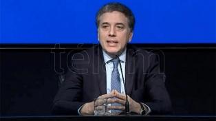 Dujovne descartó la necesidad de renegociar con el FMI