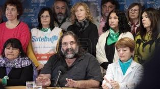 """Baradel: """"Que las clases empiecen el 6 de marzo es responsabilidad del Gobierno"""""""
