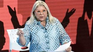 """Carrió calificó al reemplazante de Aranguren como """"el mejor funcionario"""" del Gobierno"""