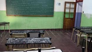 Según el Ministerio, la adhesión al paro docente es inferior al 30%