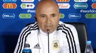 """Sampaoli: """"El equipo llega muy consolidado detrás de una idea"""""""