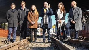 Eliminarán 11 barreras del ferrocarril San Martín