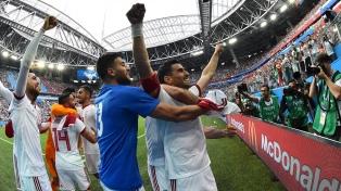 Irán, sobre la hora, le ganó a Marruecos