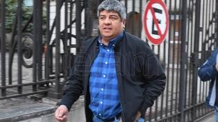 """Pablo Moyano: """"Es hora de que los dirigentes se pongan el mameluco y salgan a la calle"""""""