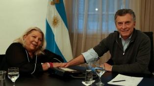 """Carrió: """"Macri quiere romper la Argentina corporativa como nadie"""""""