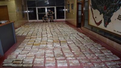 Secuestraron 751 kilos de marihuana