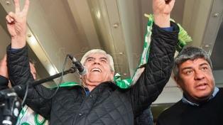 Moyano presenta un nuevo frente sindical