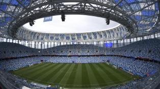 Nizhny Vodgorod, el estadio virtual que recibe a la Argentina