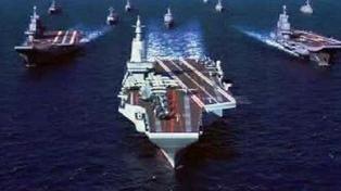 Filtran imágenes del presunto tercer portaaviones chino