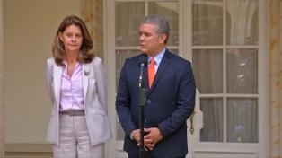 Santos recibió a Duque para asegurar la transición de poder presidencial