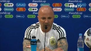 """""""Tengo motivos para creer que lograremos la clasificación"""", dijo Sampaoli"""
