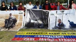 Los familiares de los periodistas asesinados viajan a reconocer los cuerpos
