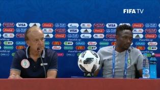 """Ahmed Musa: """"No me resulta difícil marcarle goles a la Argentina"""""""