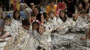 Chicos migrantes enjaulados: el peor retrato de Trump