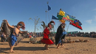 Los mapuches celebran el Wiñoy Xipantv